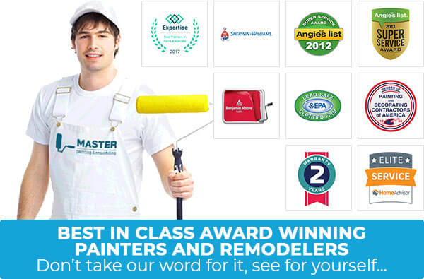 Best in Class Award Winning Painters